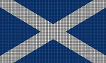 Scotland Flag Crochet Pattern