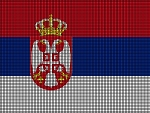 Serbia Flag Crochet Pattern