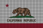 California State Flag Crochet Pattern