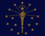 Indiana State Flag Crochet Pattern