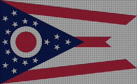 Ohio State Flag Crochet Pattern