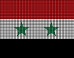 Syria Flag Crochet Pattern