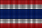 Thailand Flag Crochet Pattern