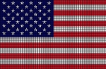 United States Flag Crochet Pattern