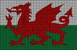Wales Flag Crochet Pattern