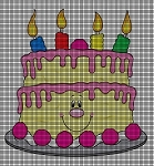 Birthday Cake Crochet Pattern