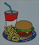 Fast Food Crochet Pattern