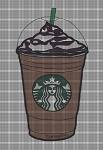 Starbucks Coffee Cup Crochet Pattern