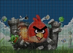 Angry Bird Castle Crochet Pattern