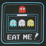 Pac Man Eat Me! Crochet Pattern