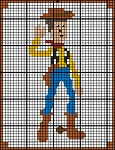 Toy Story - Woody Granny Square Crochet Pattern