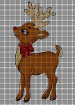 Christmas Rudolph Crochet Pattern