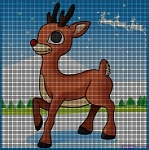 Rudolph the Red Nose Reindeer Crochet Pattern