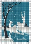 Snow Deer Crochet Pattern