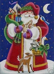 Woodland Santa Crochet Pattern
