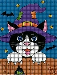 Halloween Cat Crochet Pattern