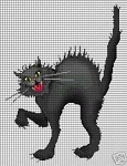 Scary Halloween Cat Crochet Pattern