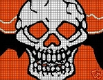 Scary Halloween Skull Crochet Pattern