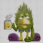 I Hate Mornings Crochet Pattern