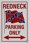 Redneck Parking Crochet Pattern