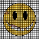 Bandaged Smiley Face Crochet Pattern