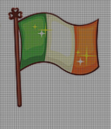 Irish Flag Crochet Pattern