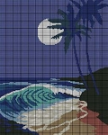Hawaiian Moon Crochet Pattern