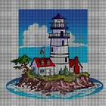 Lighthouse Island Crochet Pattern