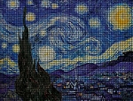 Van Gogh Starry Night Crochet Pattern