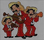 Mariachi Band Crochet Pattern