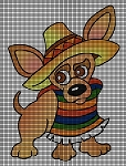 Mexican Dog Crochet Pattern