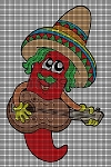 Mexican Pepper Crochet Pattern
