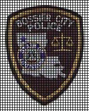 Bossier City Police Crochet Pattern