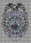 Nashville Metro Police Badge Crochet Pattern