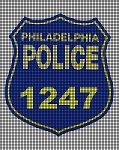 Philadelphia Police # Badge Crochet Pattern