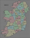 Map Of Ireland Crochet Pattern