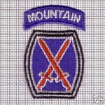 10th Mountain Division Crochet Pattern