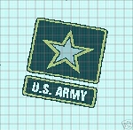 Army Logo Crochet Pattern