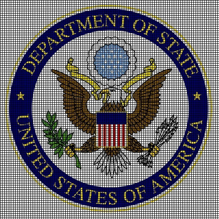 Department Of State Emblem Crochet Pattern