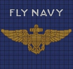 Fly Navy Crochet Pattern