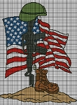 Our Fallen Heros Crochet Pattern