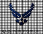 U S Airforce Crochet Pattern