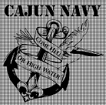Cajun Navy Crochet Pattern