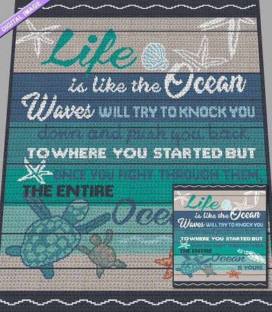 Like the Ocean Crochet Pattern
