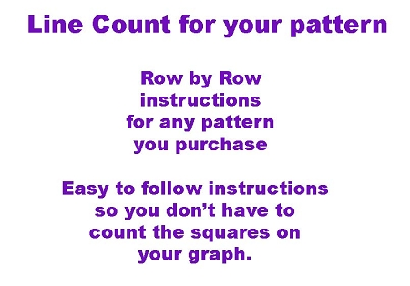 Line Count Instructions for Pattern