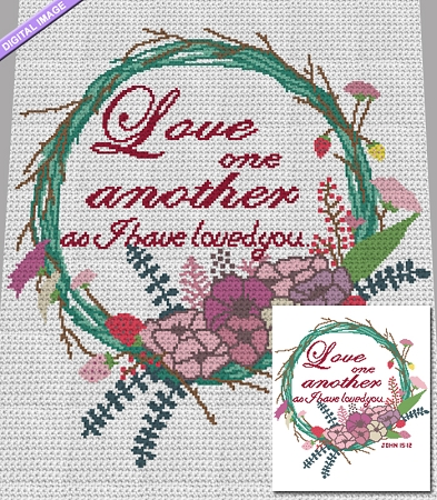 Love One Another Crochet Pattern