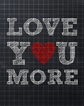 Love You More Crochet Pattern