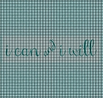 I Can And I Will Crochet Pattern