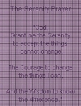 The Serenity Prayer Crochet Pattern