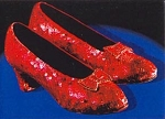 Dorothy's Ruby Shoes Crochet Pattern